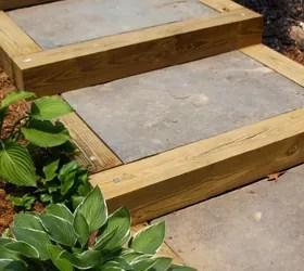 DIY Outdoor Staircase | Hometalk on Backyard Patio Steps id=16448