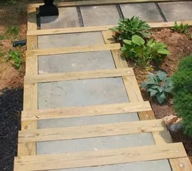 DIY Outdoor Staircase | Hometalk on Backyard Patio Steps  id=29550