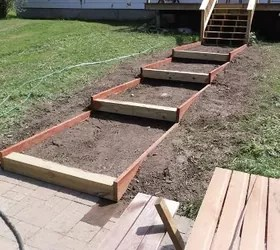 Most people struggle with sloped backyards, but look what ... on Backyard Patio Steps  id=67025