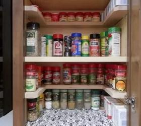 diy spicy shelf organizer | hometalk