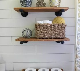 DIY Farmhouse Bathroom | Hometalk