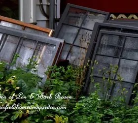 Repurposed Windows Greenhouse Hometalk