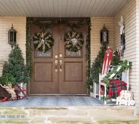 Front Porch Christmas Decor Hometalk