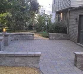 Paver Patio | Hometalk on Backyard Brick Patio id=47047