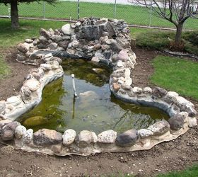 Our Front Yard Pond and Other Projects   Hometalk on Front Yard Pond  id=14878