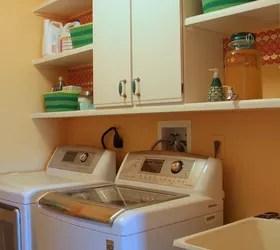 Functional Laundry Room Facelift   Hometalk on Laundry Room Shelves Ideas  id=93802