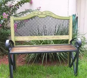 headboard garden bench Headboard Garden Bench | Hometalk