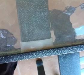 patio table for repair
