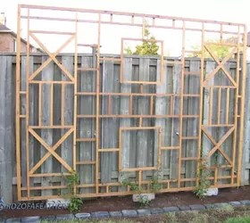 Build A Trellis And Privacy Screen