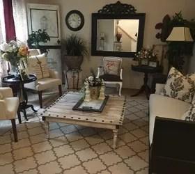 A Designer Living Room On A Budget By A Garage Sale DIY