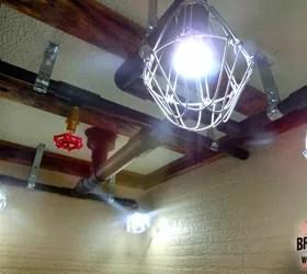 industrial lighting idea pipe lights