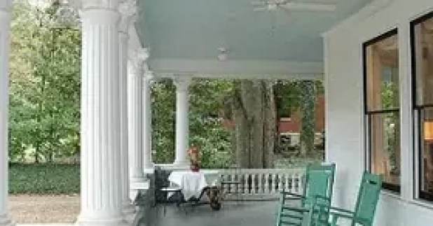Blue Porch Ceilings Keep Bugs Away Www Gradschoolfairs Com