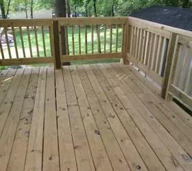 New Deck Paint