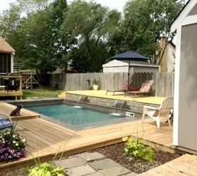 WOW. 11 Dreamy Ideas for People Who Have Backyard Pools ... on Backyard Pool Decor Ideas id=15267