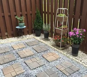 Backyard Makeover: DIY Landscaping Project | Hometalk on Diy Small Patio Ideas id=52853