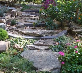 Here's What People Are Doing With Their Sloped Backyards ... on Sloped Yard Ideas id=99739