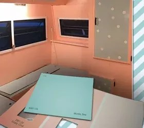 Daughter Buys A Camper And Gives It A Makeover For 500