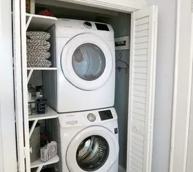 10 Space Saving Hacks For Your Small Laundry Room Hometalk