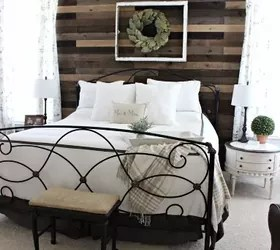 Pallet Board Master Bedroom Wall | Hometalk on Pallet Room Ideas  id=71903