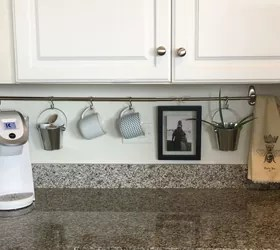 declutter kitchen countertop with a