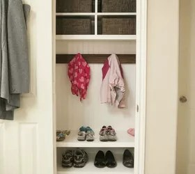 Heres How To Get A Mudroom When You Dont Have An Entryway 13 Ideas Hometalk