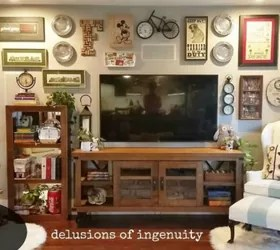 13 Low-Budget Ways to Decorate Your Living Room Walls ... on How To Decorate Your Room  id=64808
