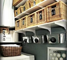 Hate Your Dreary Laundry Room? Try These 13 Cute Ideas ... on Laundry Room Organization Ideas  id=87723