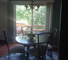 dining room sliding glass door curtain