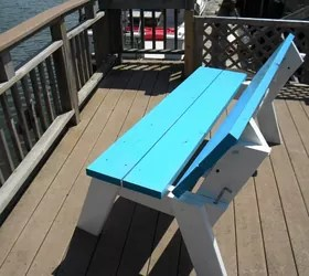 How To Make A Diy Convertible Picnic Table That Folds Into