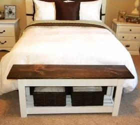 end of bed bench hometalk