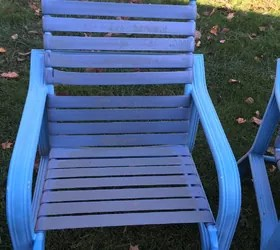 lawn chair without actual webbing