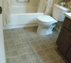 can u put tile directly over linoleum