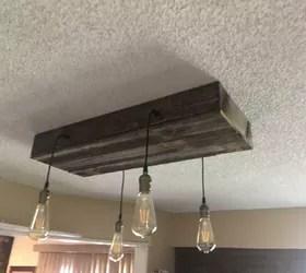 rustic kitchen light fixture hometalk