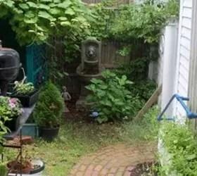 brick patio that needs mortar repair