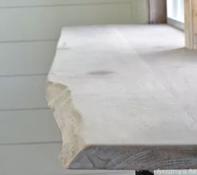 use wood slabs to brighten up your home