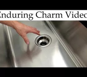 how do i restore a stainless steel sink