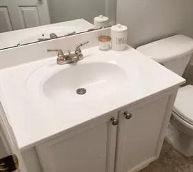 paint your bathroom sink hometalk