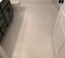 painting my floors with rustoleum