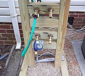 hose reel solution for yard and garden