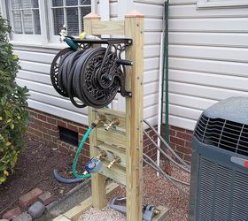 Build Garden Hose Reel