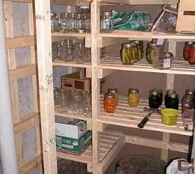 walk-in cold storage room in your basement - diy root cellar | hometalk