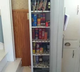 Old Metal Cabinet Turned Into Pantry Hometalk