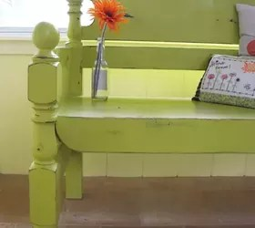turn that unwanted twin bed into a useful bench! | hometalk