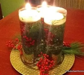 Cheap & Chic Christmas Centerpiece