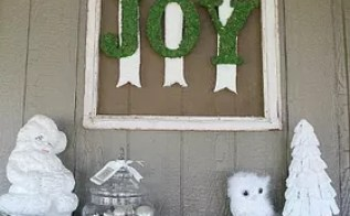 Cool Design Moss Covered Letters 9