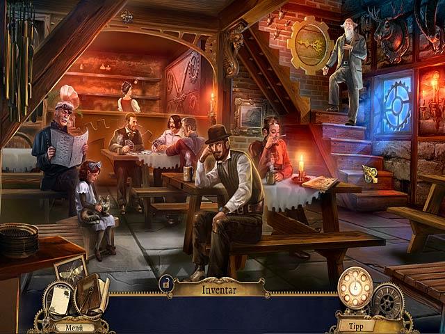 Wimmelbildspiel Clockwork Tales Die Geschichte von Glass und Ink