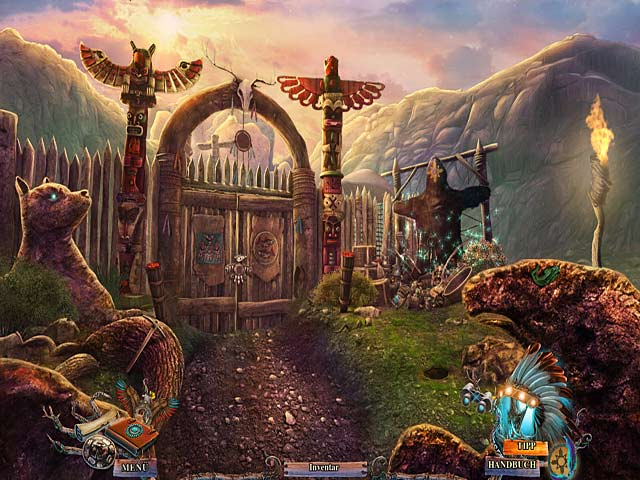 Wimmelbildspiel Myths of the World: Der Wolfsgeist