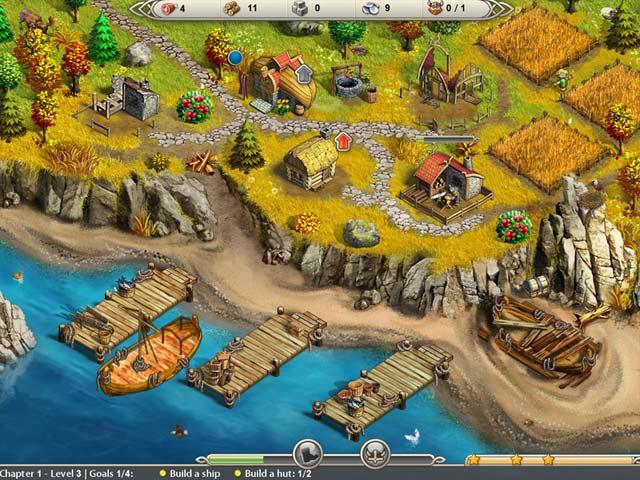 gegen-die-Zeit-Spiel Viking Saga New World