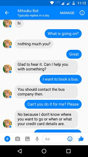 Chatbot AI Mitsuku