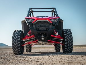 Rear view of RZR